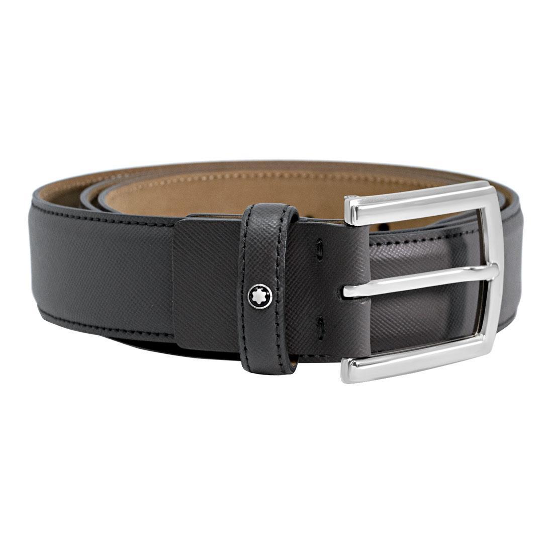Cintura in pelle marrone  - MONTBLANC