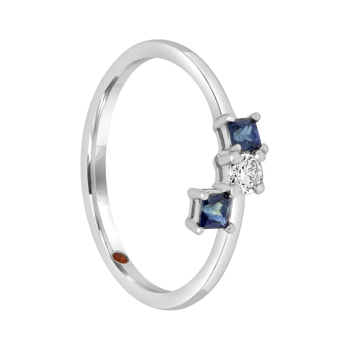Anello con diamante - ALFIERI & ST. JOHN