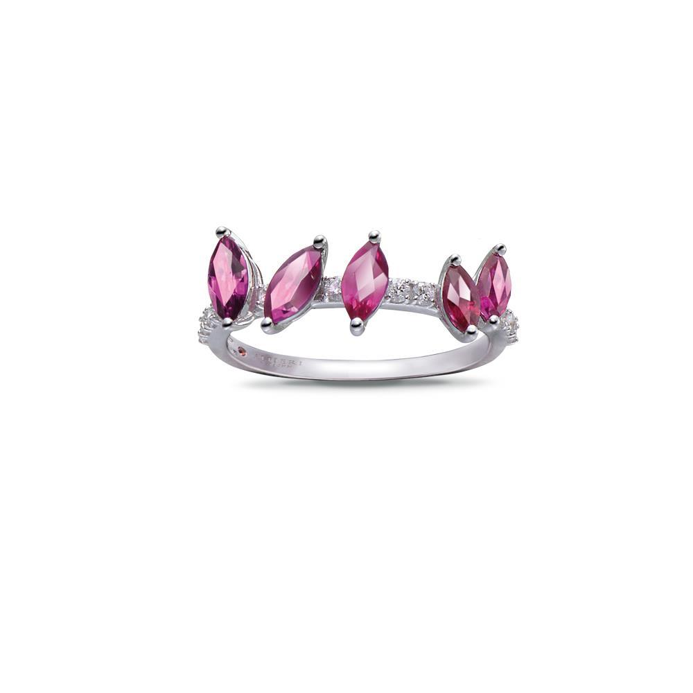 Anello con rubini e diamanti - ALFIERI & ST. JOHN