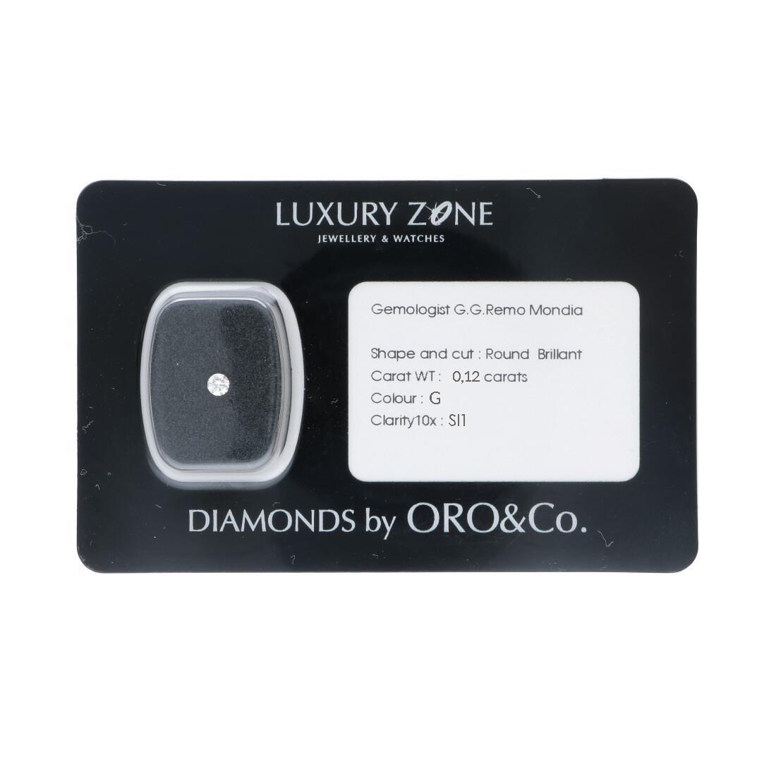 Diamante blisterato 0,12 ct. - ORO&CO