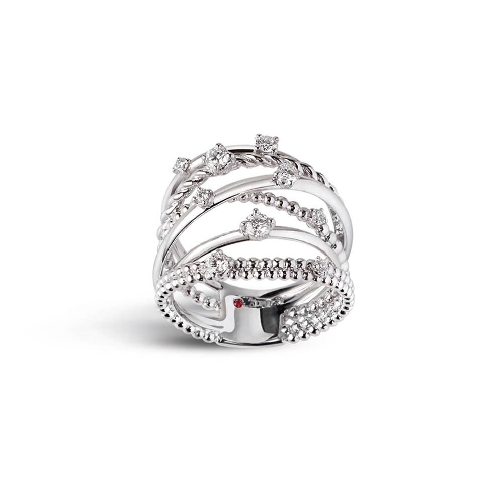 Anellocon diamanti - ALFIERI & ST. JOHN