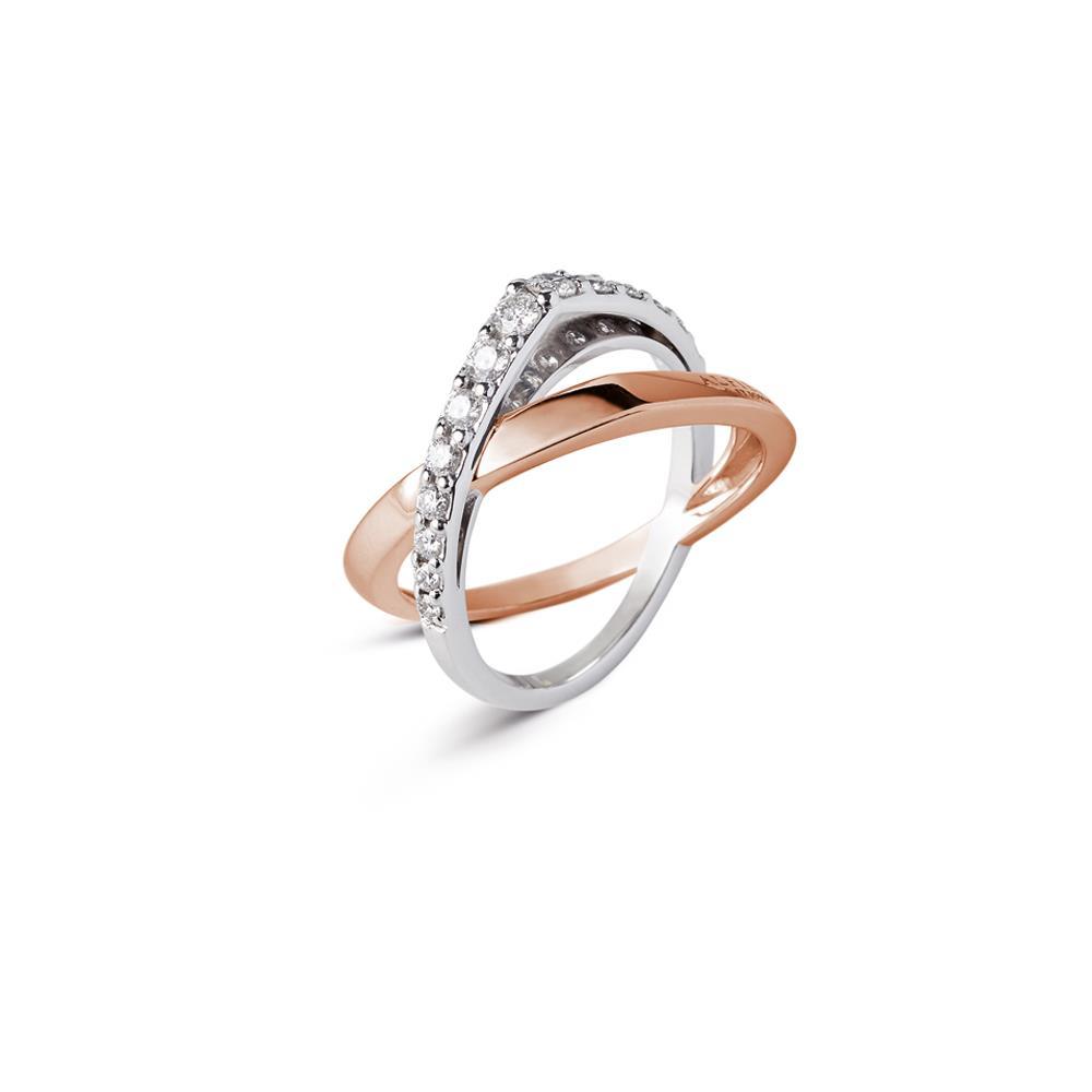 Anello fasce con diamanti - ALFIERI & ST. JOHN