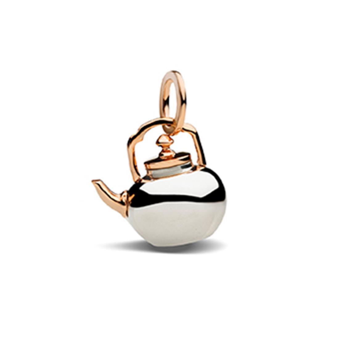 Pendente teiera in argento e oro - POMELLATO