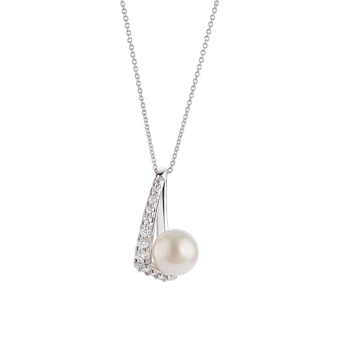 Necklace with Akoya pearl  - ALFIERI & ST. JOHN