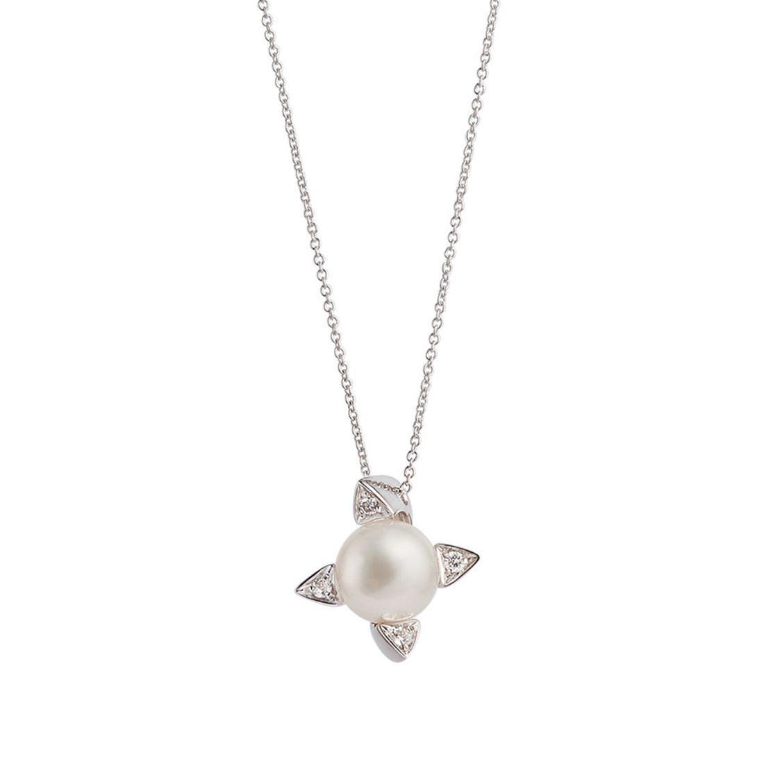Collana con perla Akoya - ALFIERI & ST. JOHN