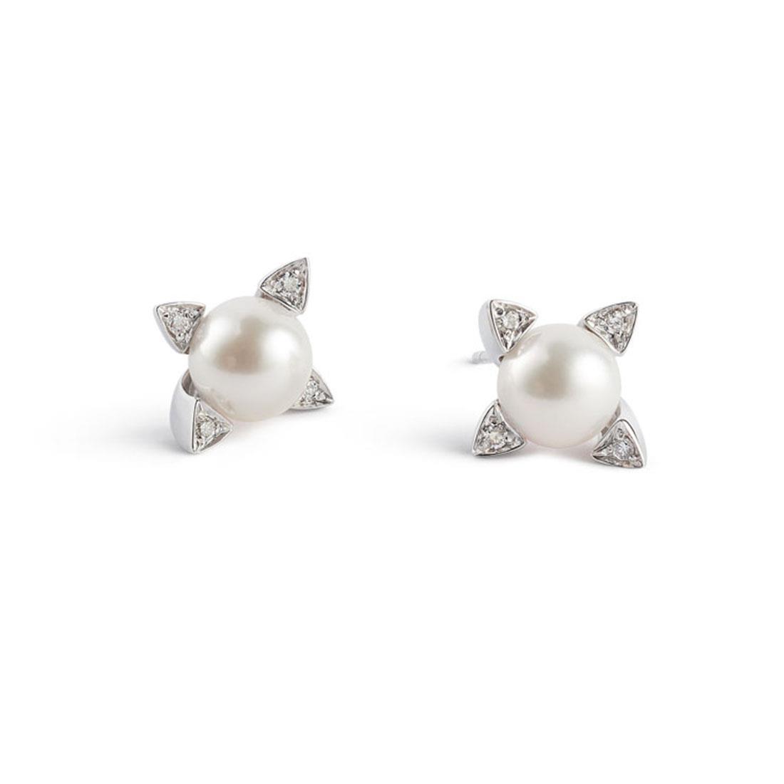 Orecchini con perle Akoya - ALFIERI & ST. JOHN
