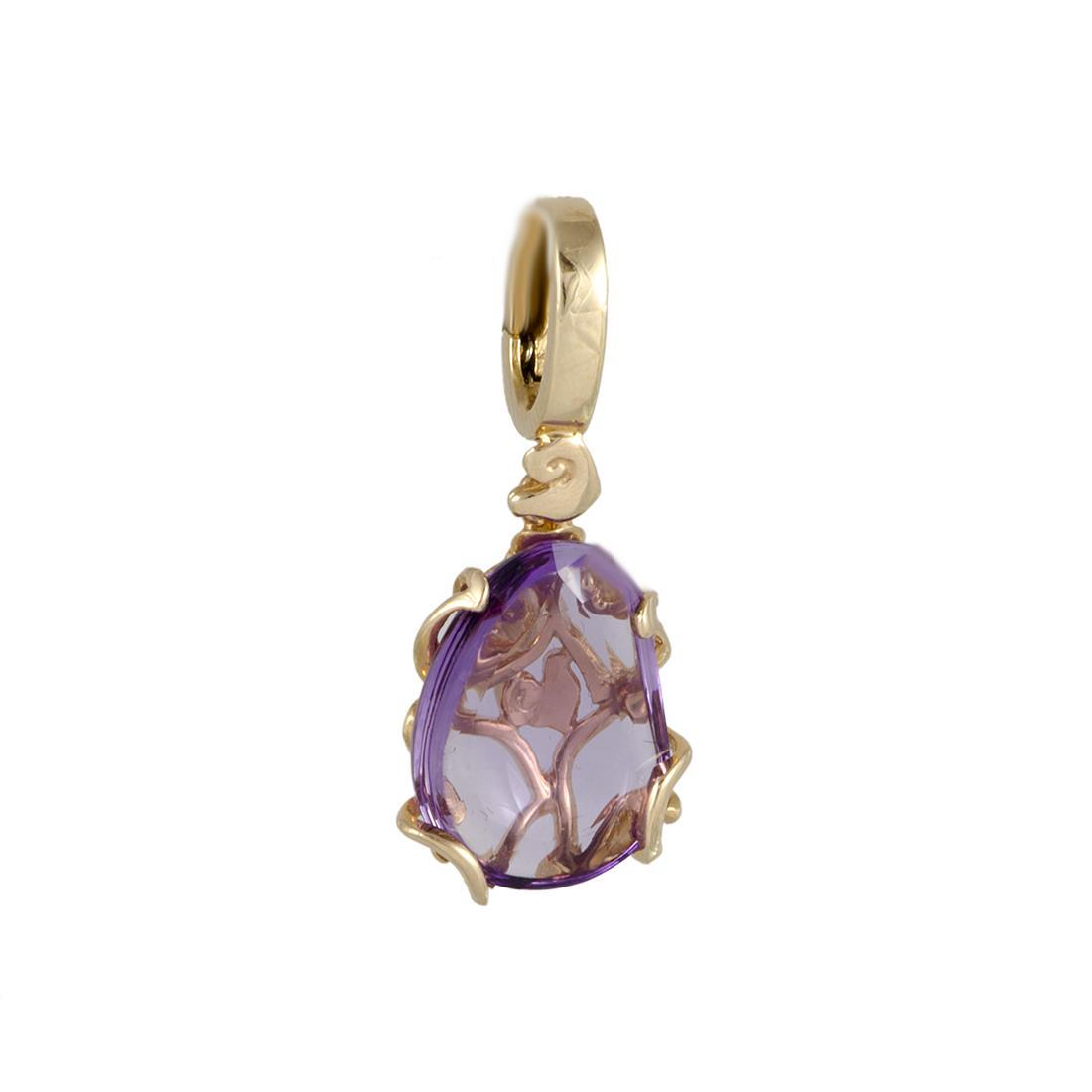 Chantecler red gold pendant with amethyst cts 0,84 - CHANTECLER