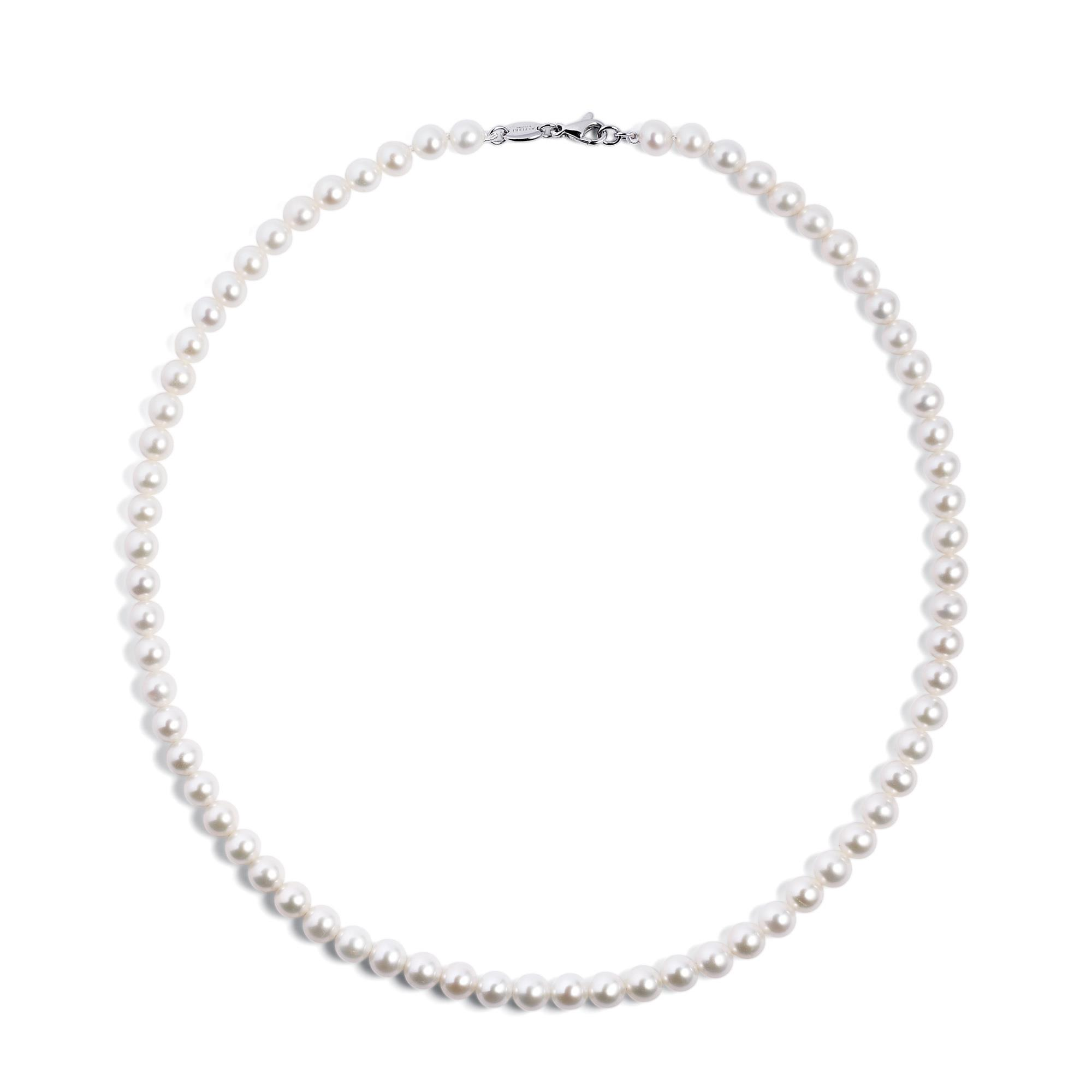 Collana di perle diametro 5,5mm - ALFIERI & ST. JOHN