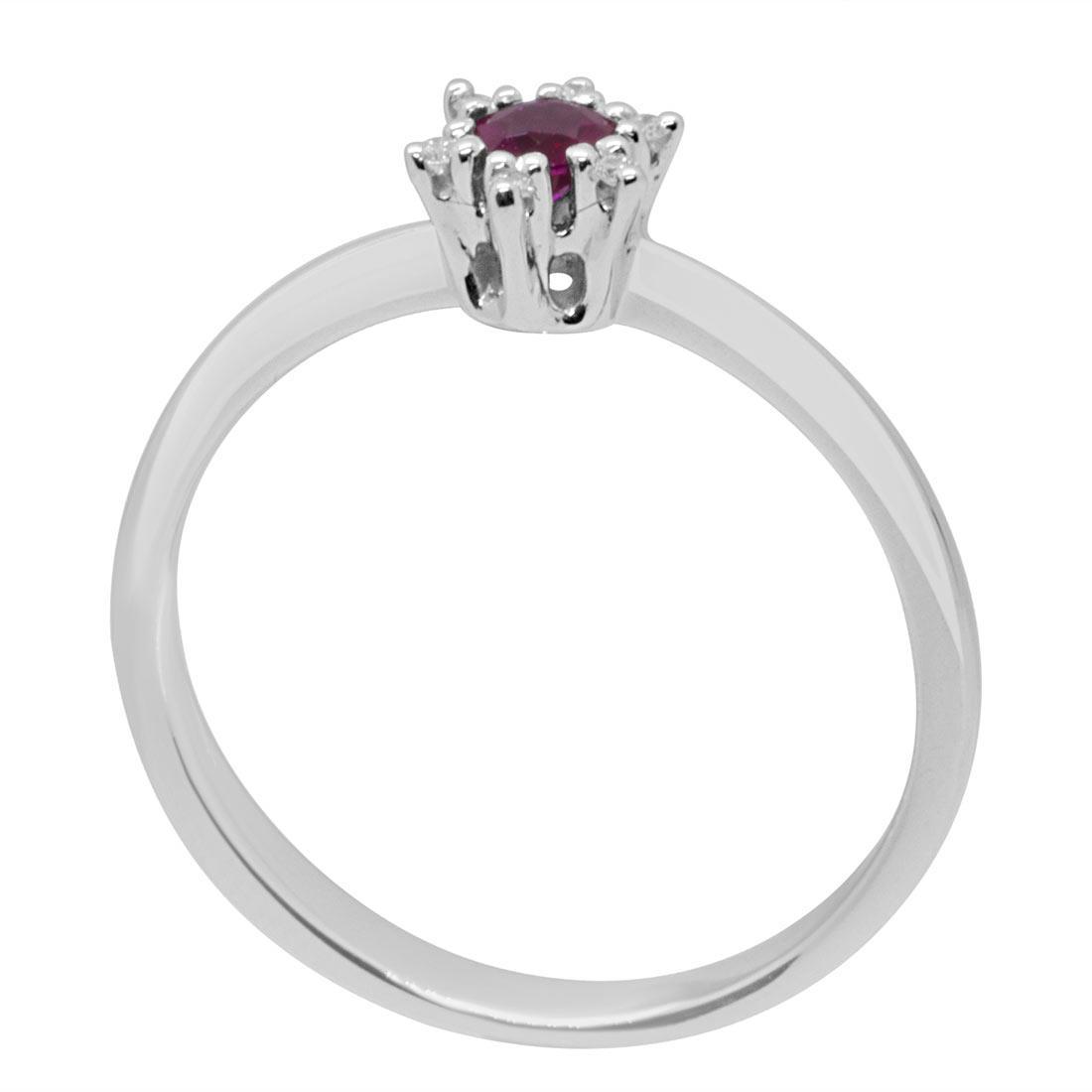 Anello con rubino e diamanti - ALFIERI & ST. JOHN