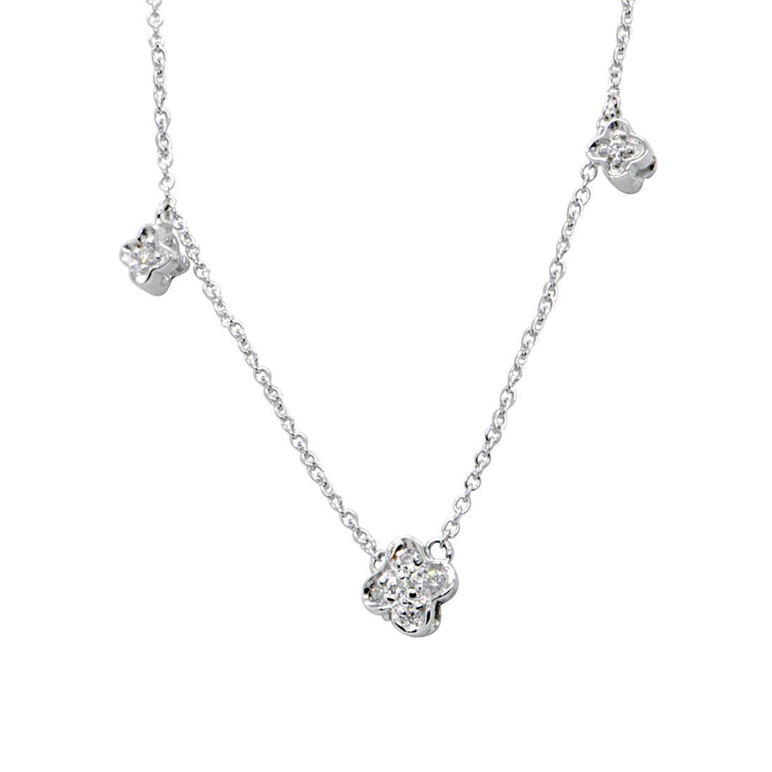 Collana Alfieri & St john e diamanti ct 0,05 - ALFIERI ST JOHN