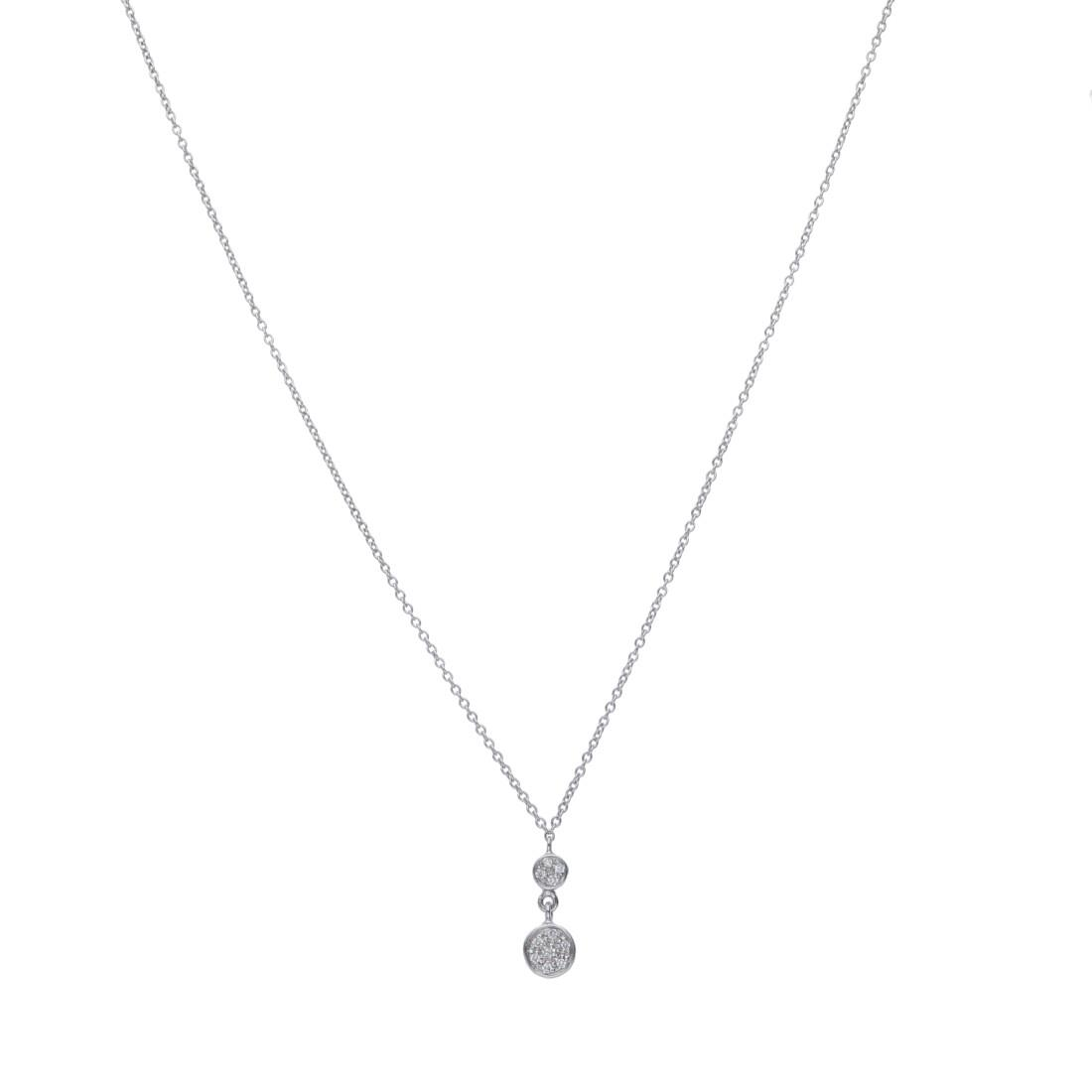 Collana con pendente in diamanti - ALFIERI & ST. JOHN