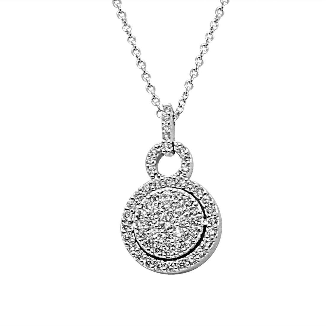 Collana in oro bianco con diamanti 0,72 ct - ALFIERI & ST. JOHN