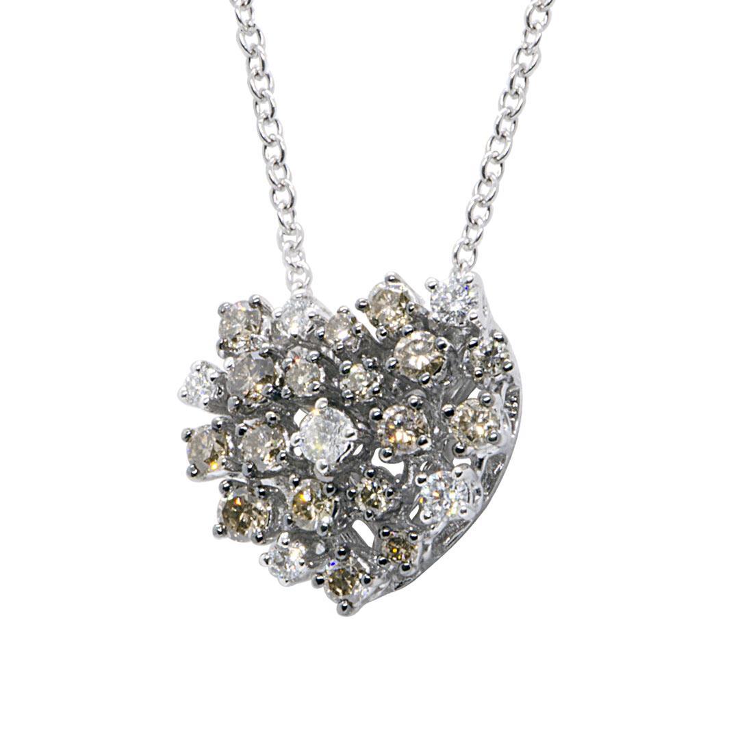 Collana Alfieri & St john e diamanti ct 0,70 - ALFIERI ST JOHN
