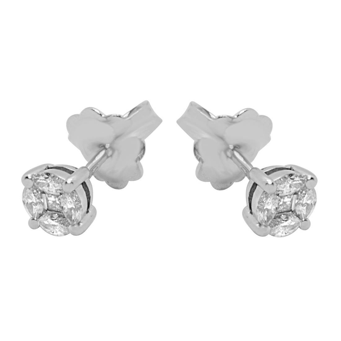 Orecchini Alfieri & St Joh con diamanti ct 0,32 - ALFIERI ST JOHN