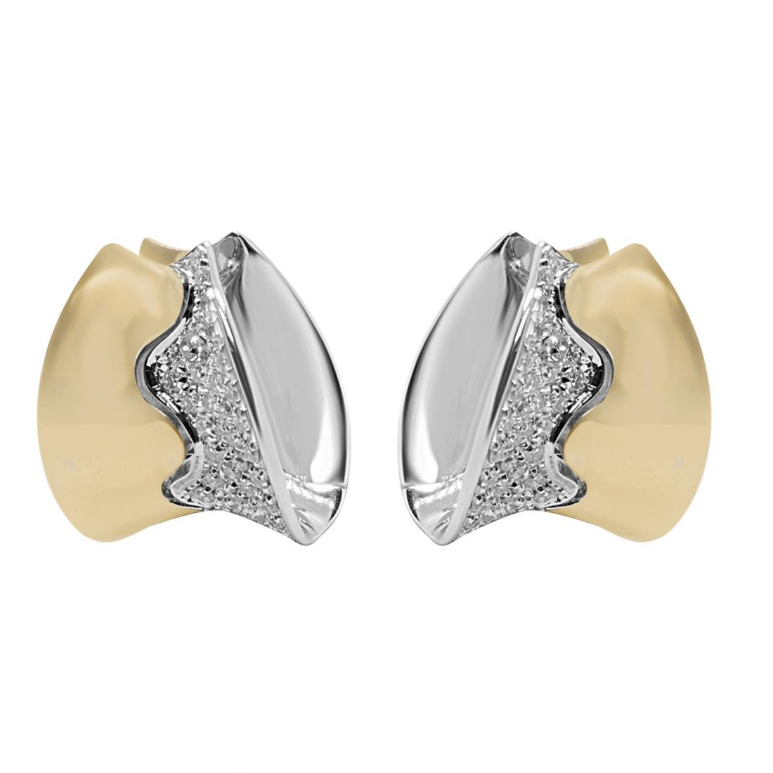 Orecchini Alfieri & St John con diamanti ct 0,65 - ALFIERI & ST.JOHN