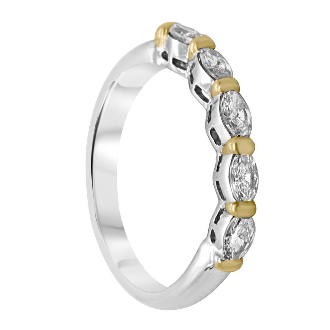 Anello Damiani in oro giallo e in oro bianco con diamanti  - DAMIANI
