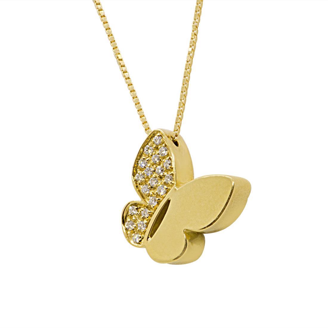 Collier Salvini in oro giallo con diamanti  - SALVINI