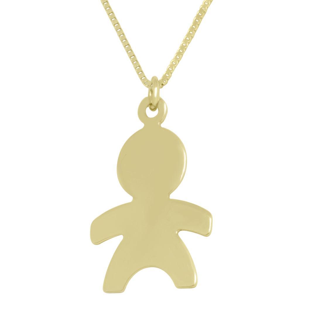 Collana in oro giallo con pendente - ORO&CO
