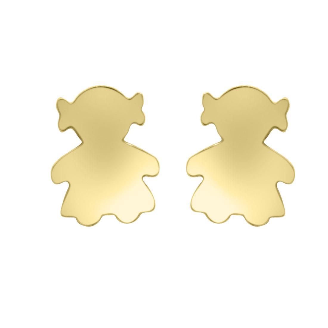 Orecchini in oro giallo - ORO&CO
