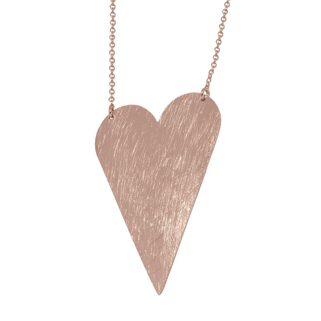 Collana in argento rosato - ORO&CO