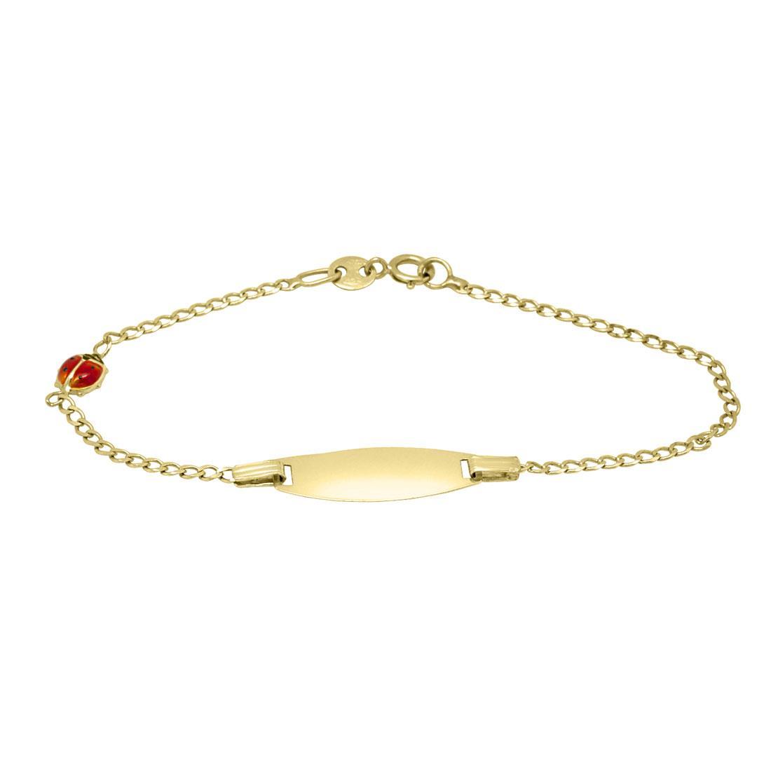 Bracciale bimba in oro giallo  - ORO&CO
