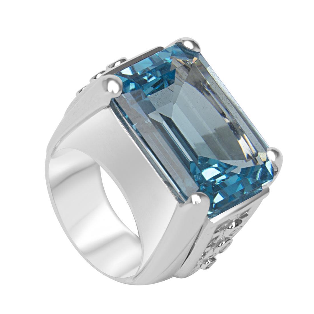 Anello Oro & Co in oro bianco con diamanti ct 0.13 colore G purezza SI  - ORO&CO