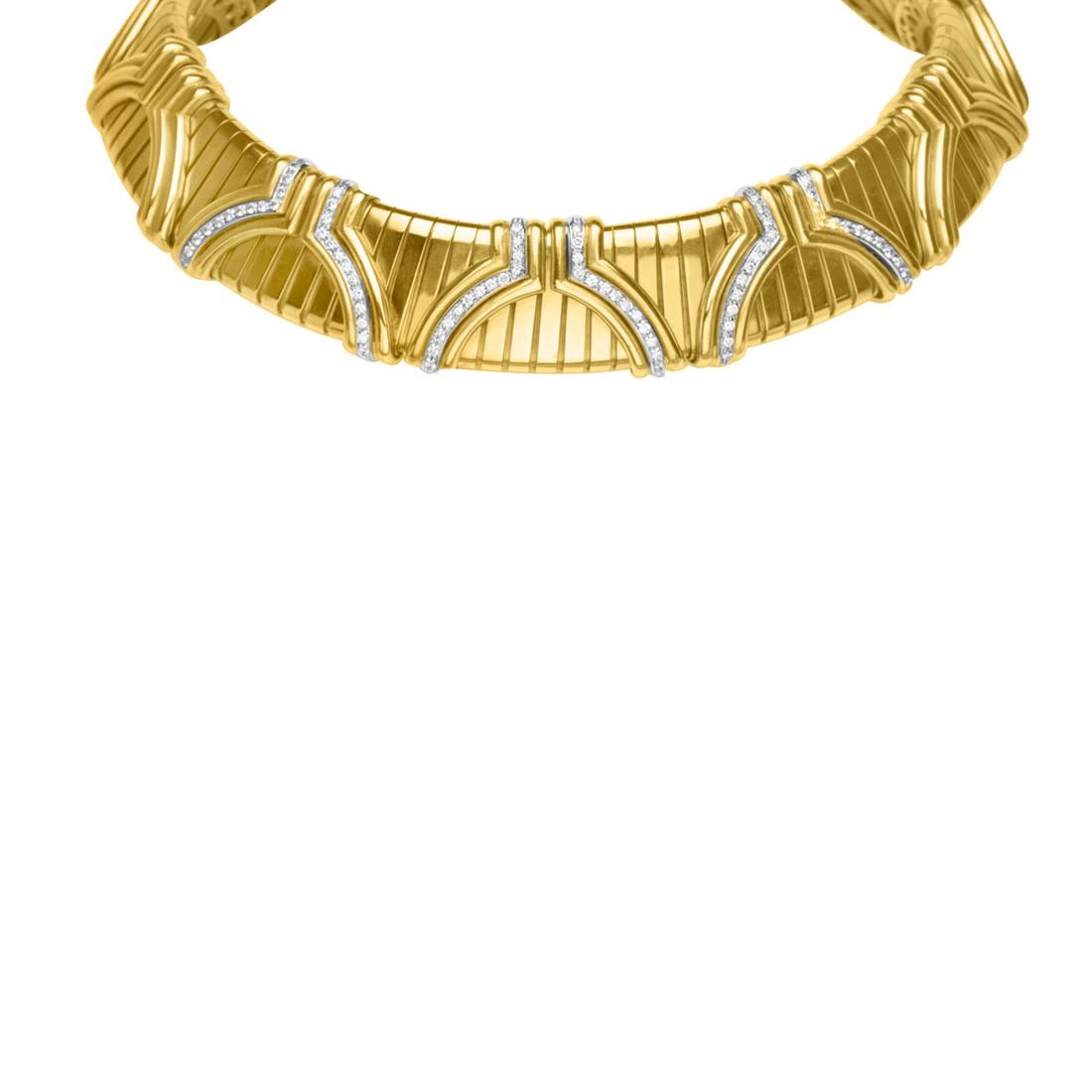 Collana rigida in oro giallo - ORO&CO