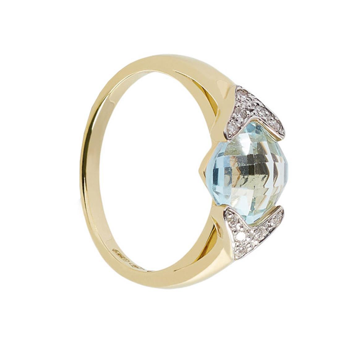 Anello con topazio e diamanti - ALFIERI & ST. JOHN