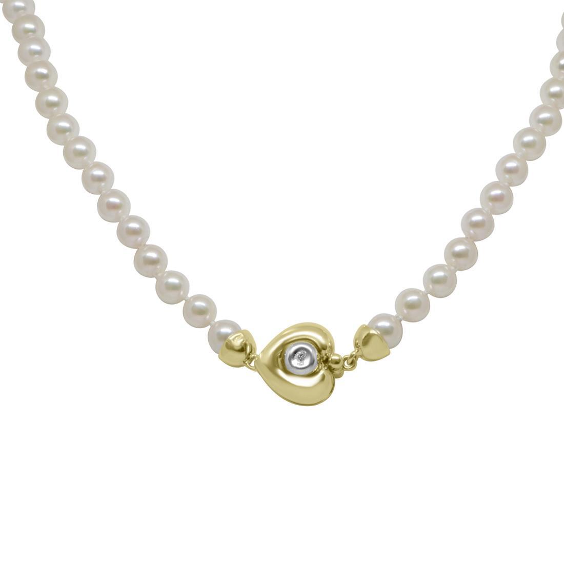 Collana Oro & Co con perle Akoya Giapponesi 5.5-6MM - ORO&CO