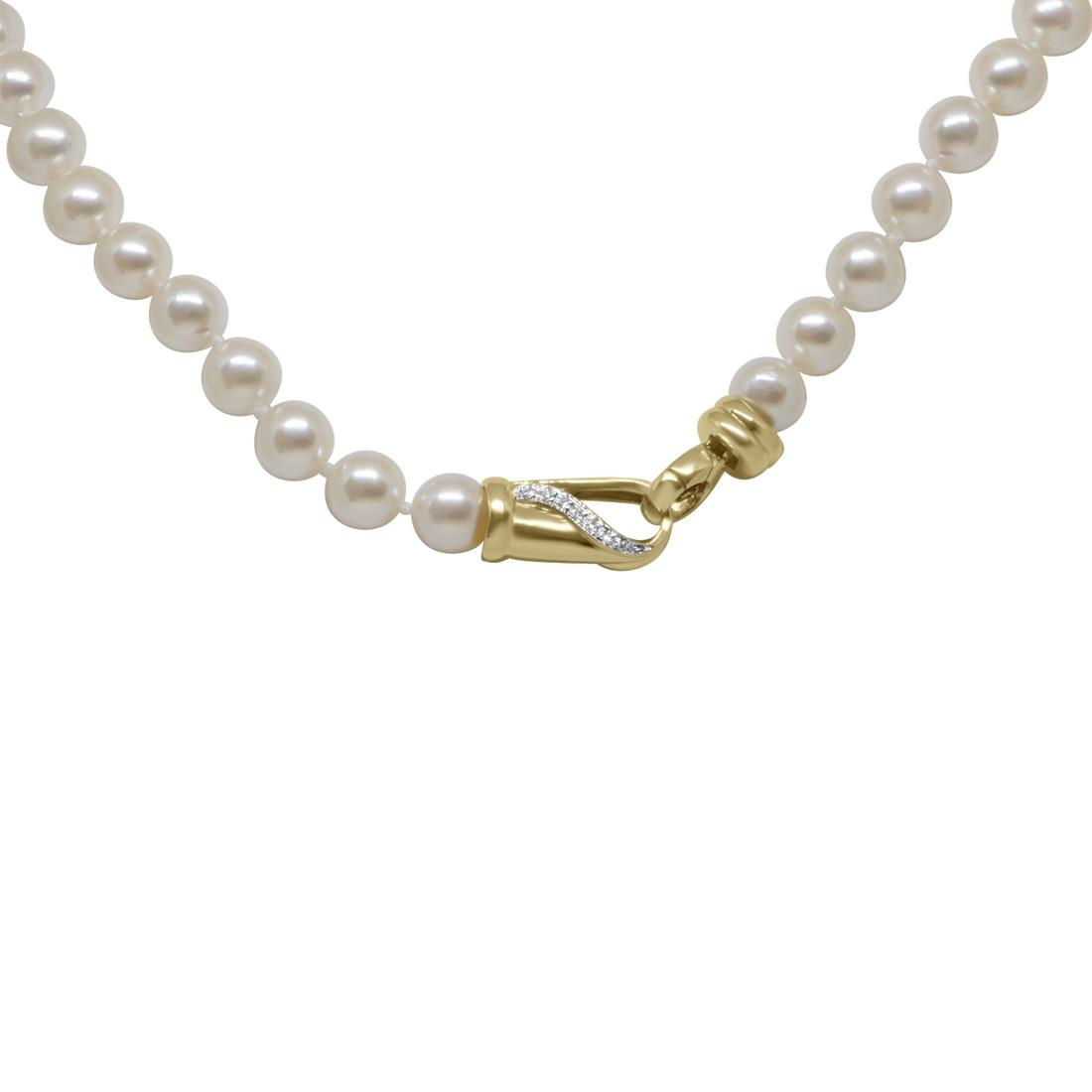 Collana Oro & Co con perle Akoya Giapponesi 8-8.5 mm - ORO&CO