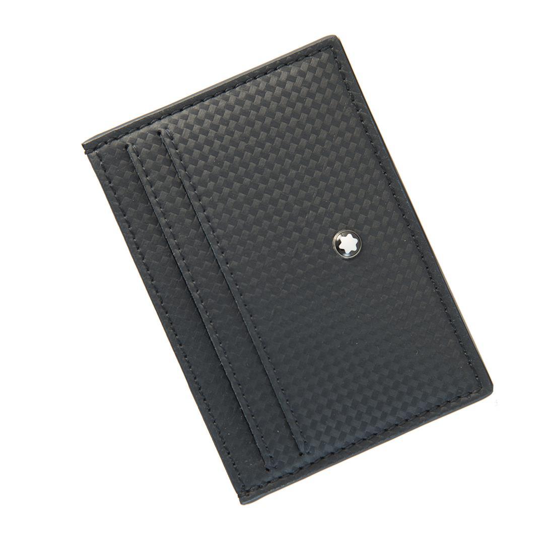 Custodia portacarte tascabile Montblanc a 5 scomparti - MONTBLANC