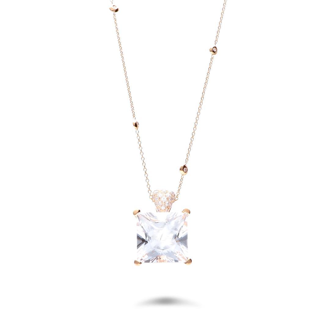Collana con cristallo di rocca - ALFIERI & ST. JOHN