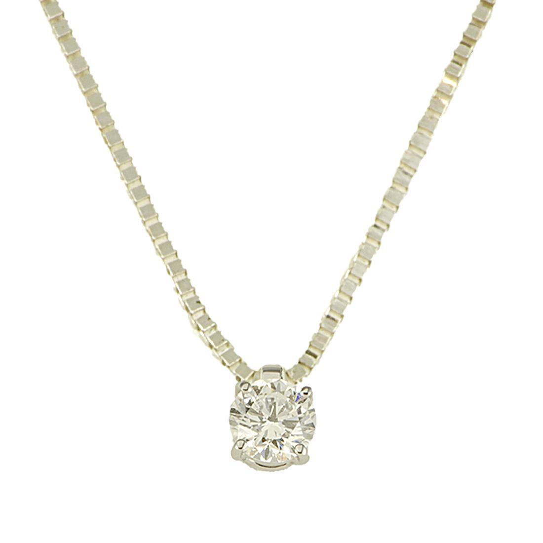Collana con diamante - ALFIERI & ST. JOHN