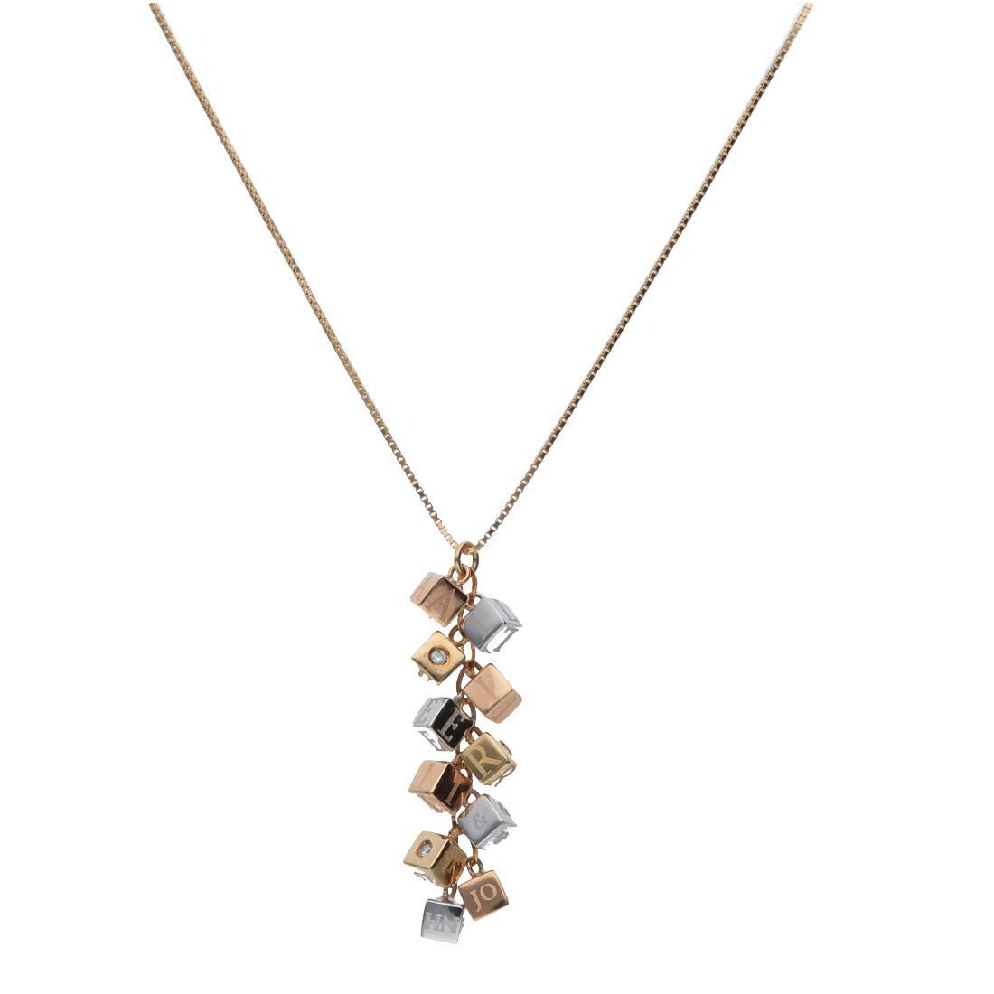 Collar con diamantes - ALFIERI & ST. JOHN