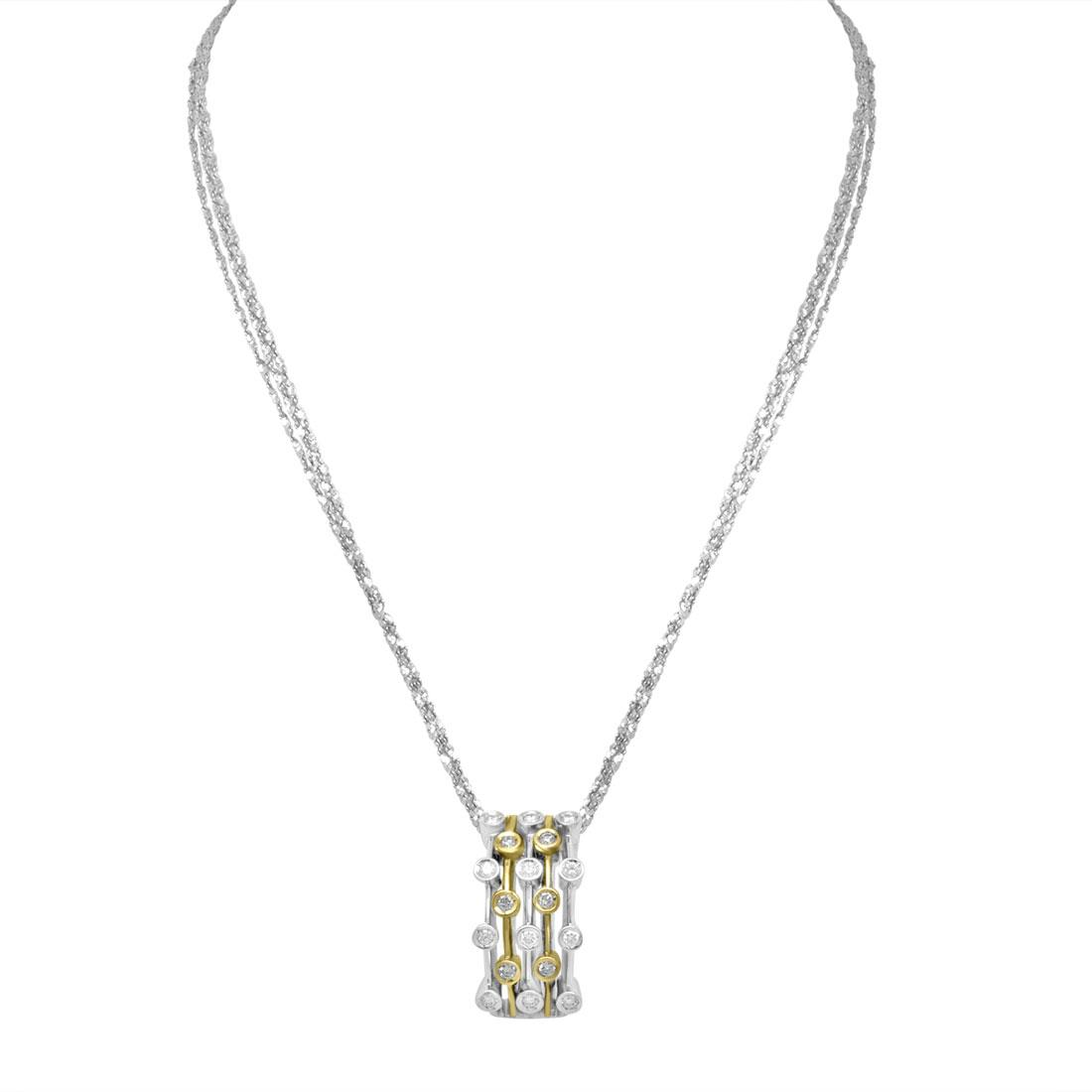 Collana con diamanti - ALFIERI & ST. JOHN