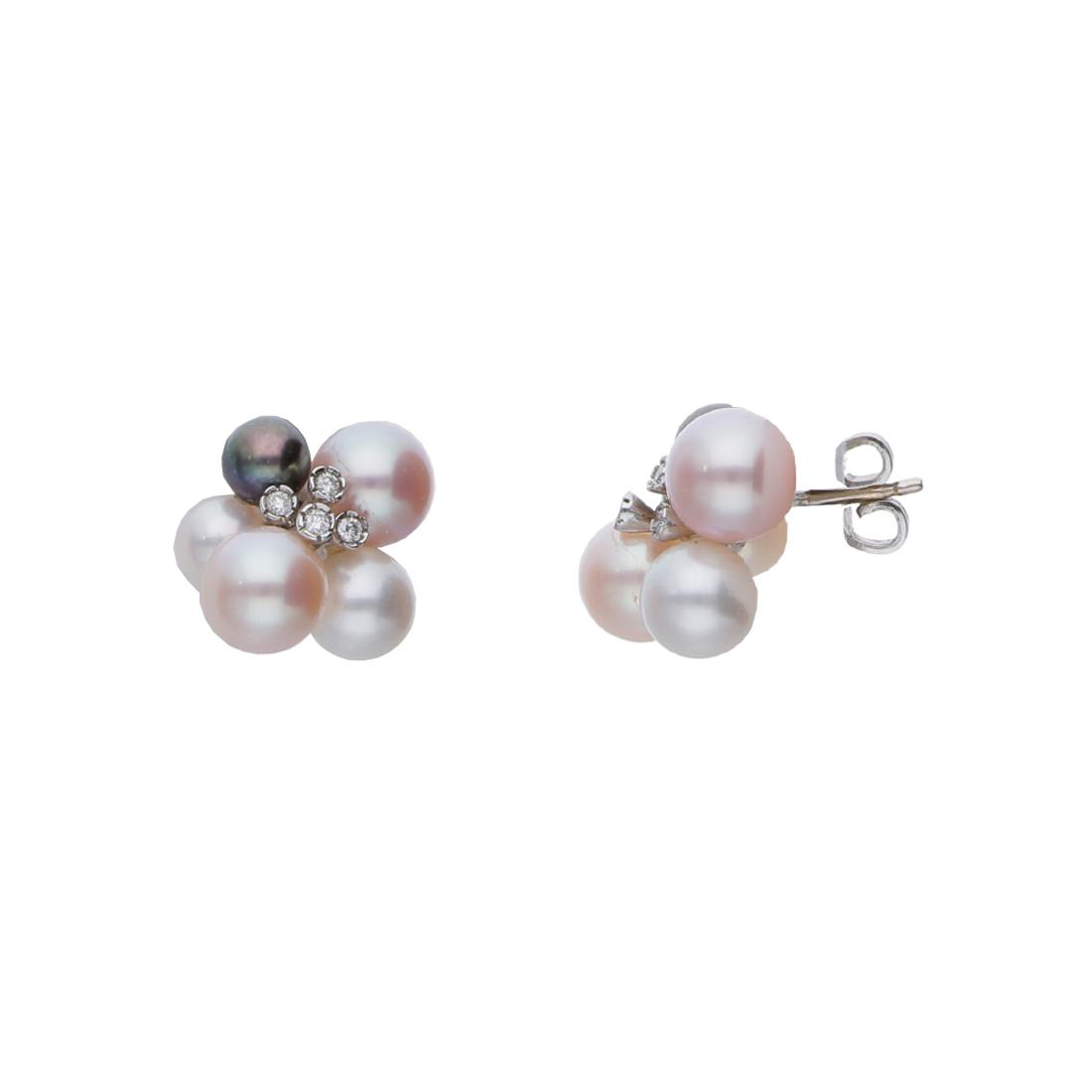 Orecchini design con perle - ALFIERI & ST. JOHN
