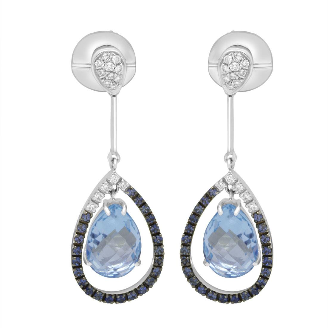 Orecchini con diamanti - ALFIERI & ST. JOHN