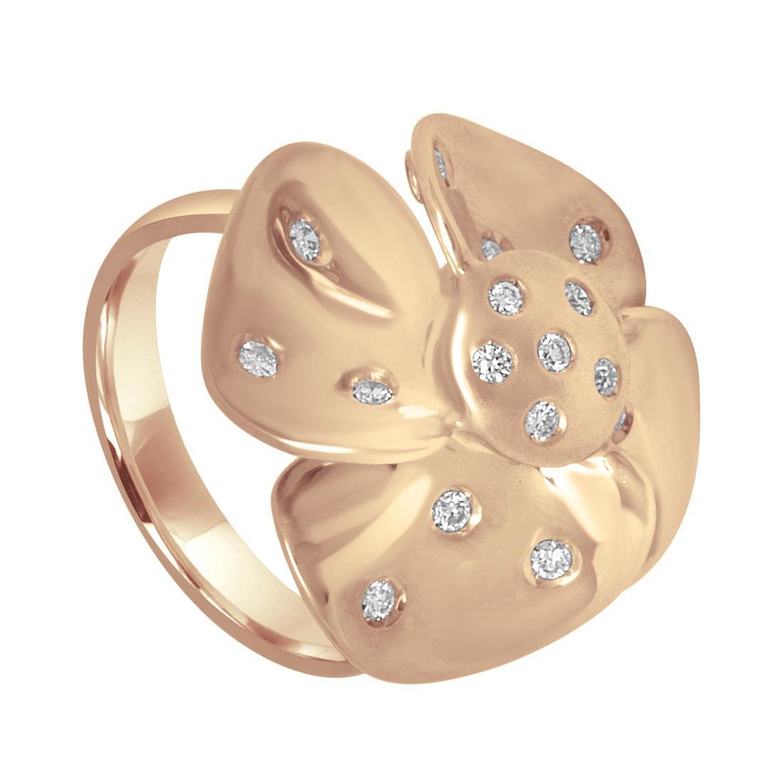 Design ring with diamonds - ALFIERI & ST. JOHN