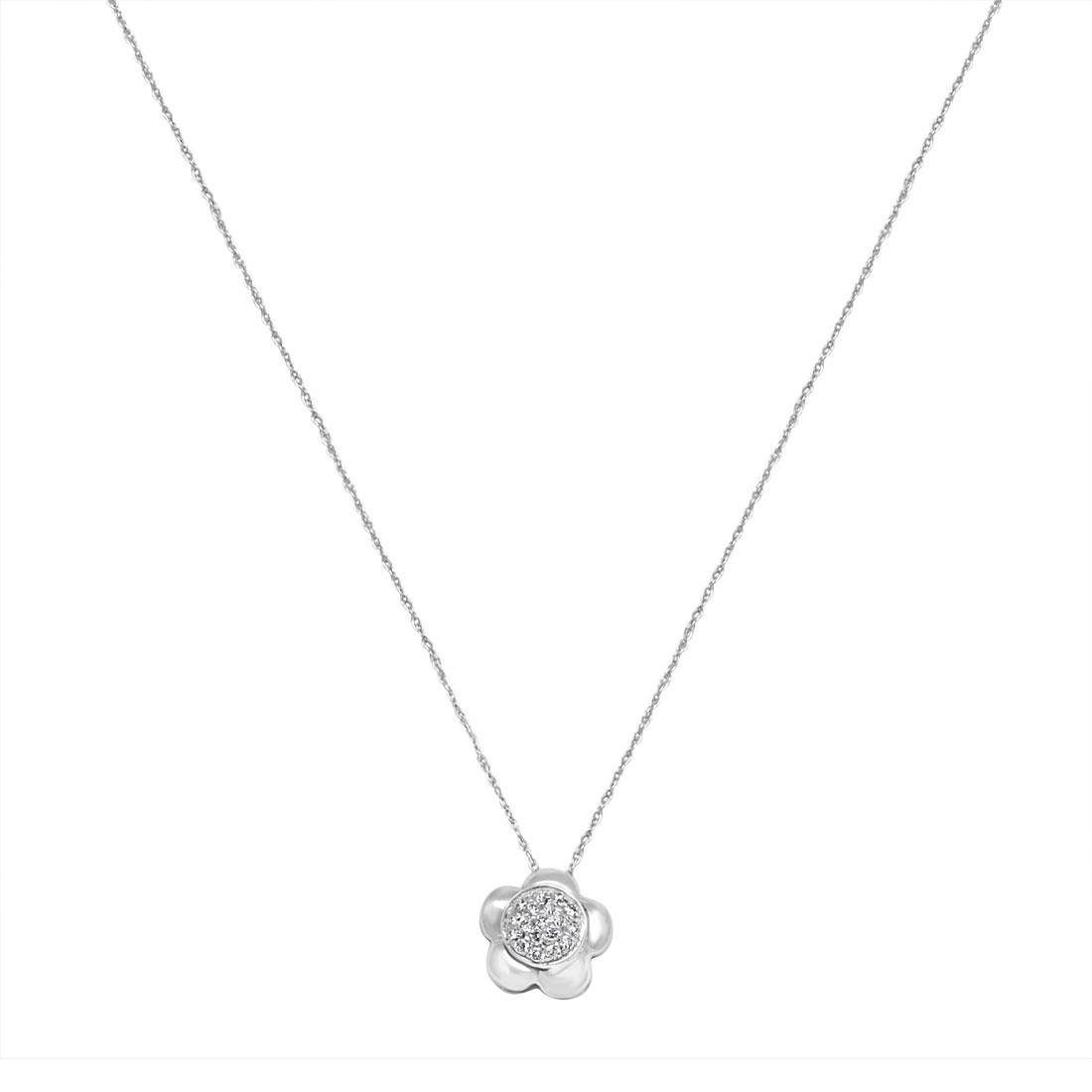 Collana in oro bianco e diamanti - ALFIERI & ST. JOHN