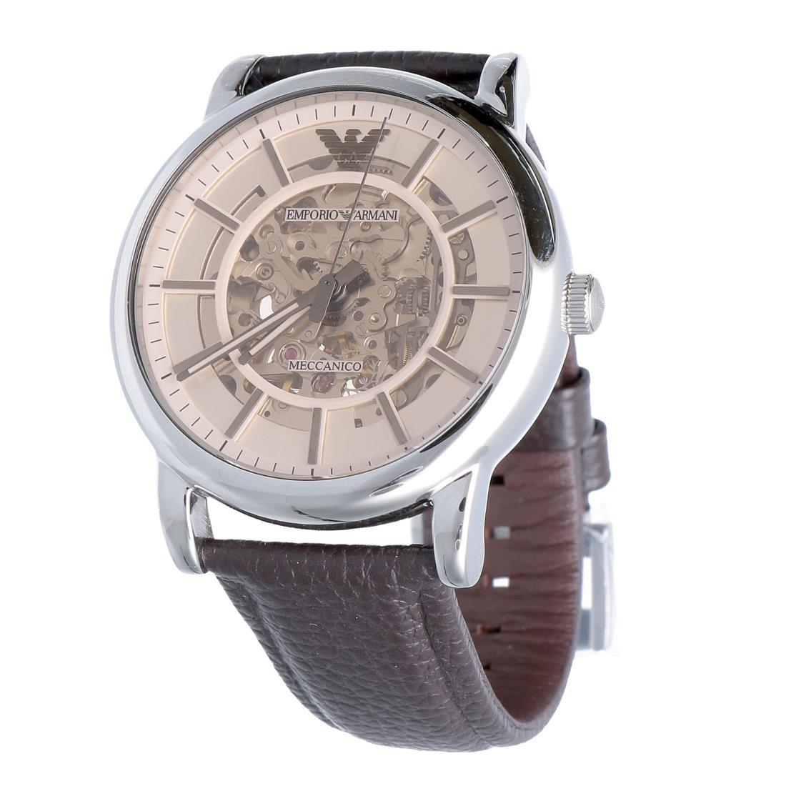 Orologio cassa 43 mm in acciaio inossidabile - ARMANI