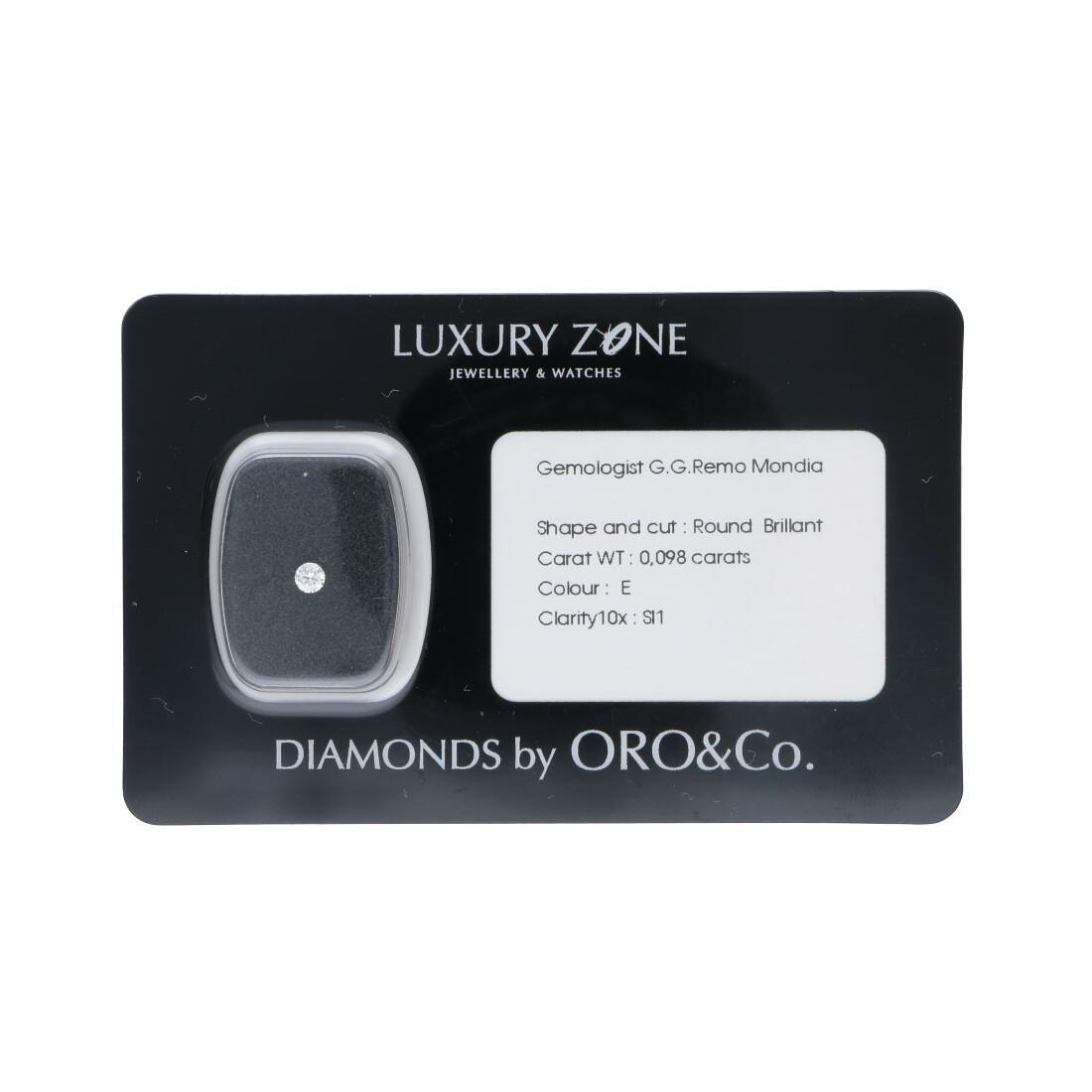 Diamante blisterato 0.098 ct - LUXURY ZONE
