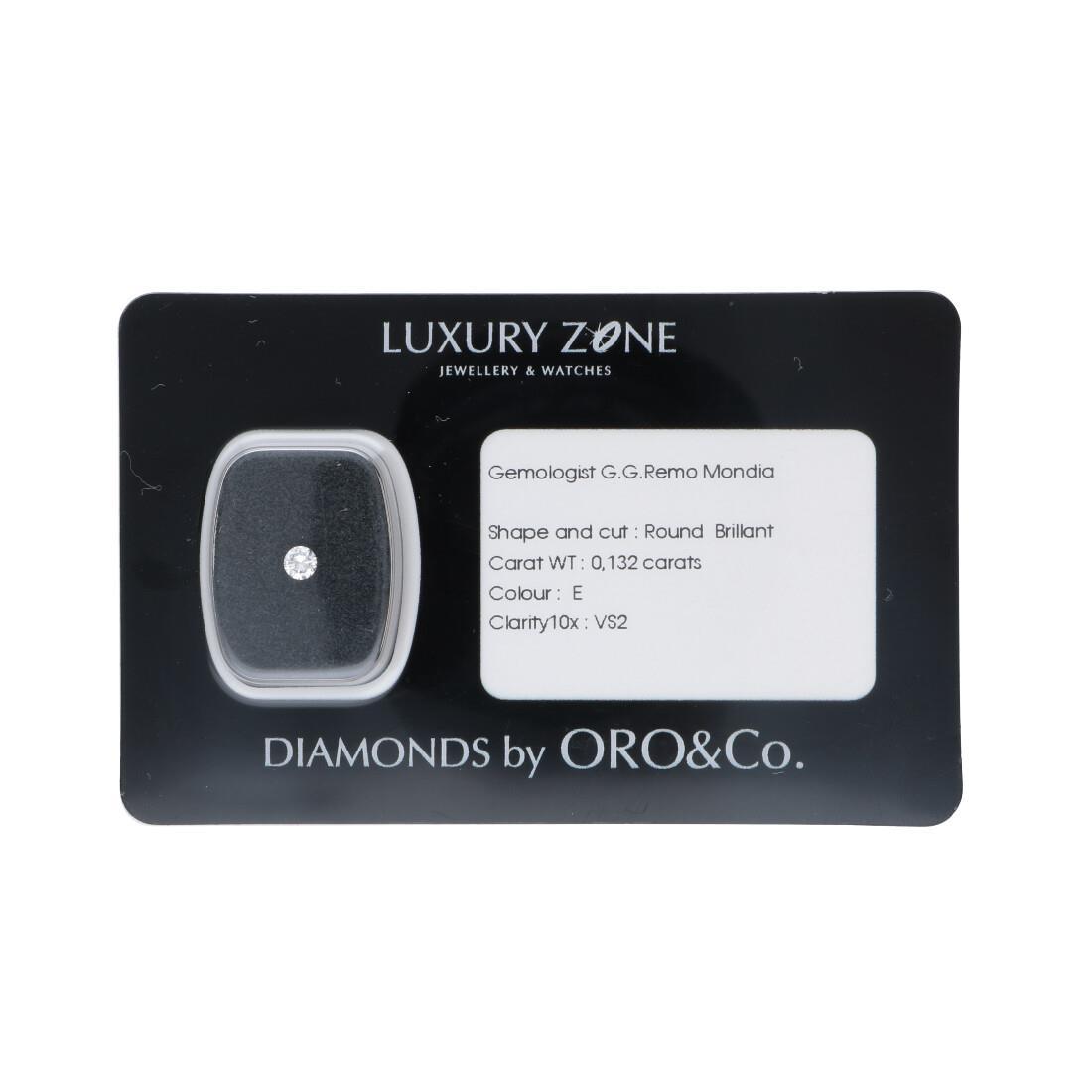 Diamante blisterato 0.132 ct - LUXURY ZONE