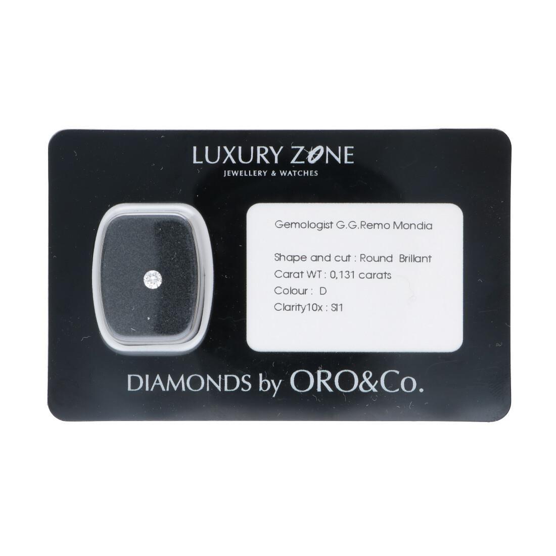 Diamante blisterato 0.131 ct - LUXURY ZONE
