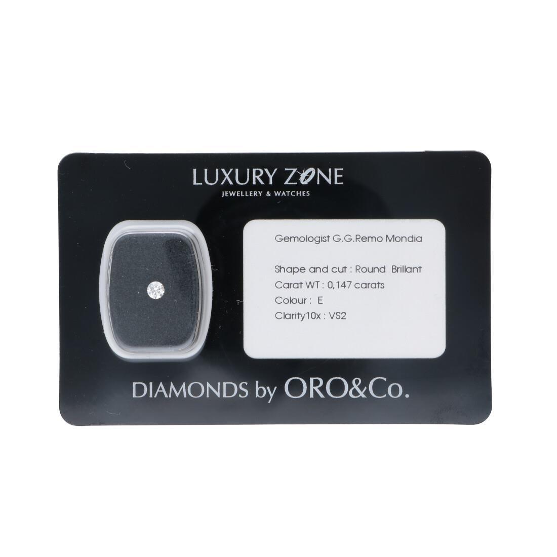 Diamante blisterato 0.147 ct - LUXURY ZONE