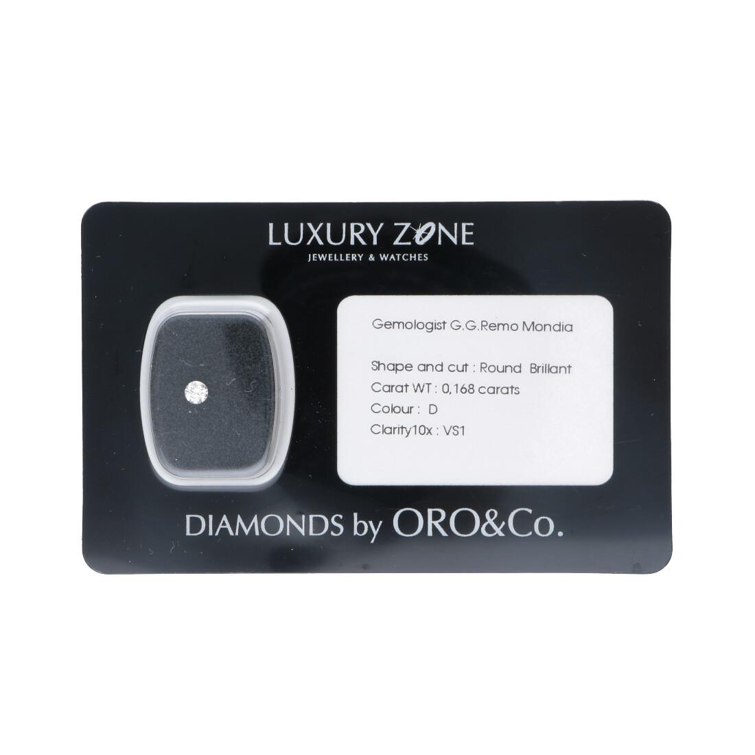 Diamante blisterato 0.168 ct - LUXURY ZONE
