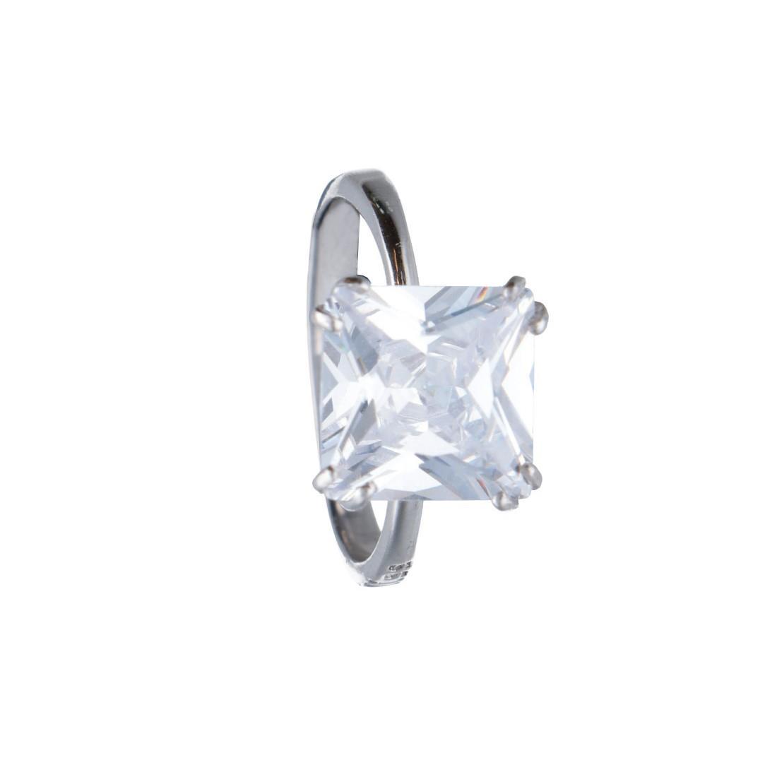 Anello in argento con zircone mis 15 - BLISS