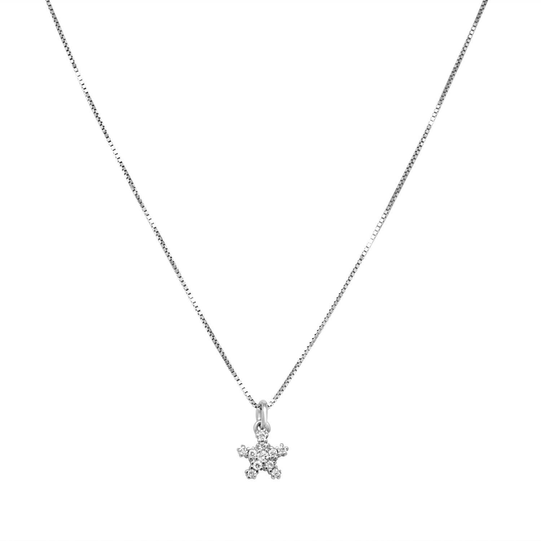 Collana in oro bianco e diamanti - BLISS