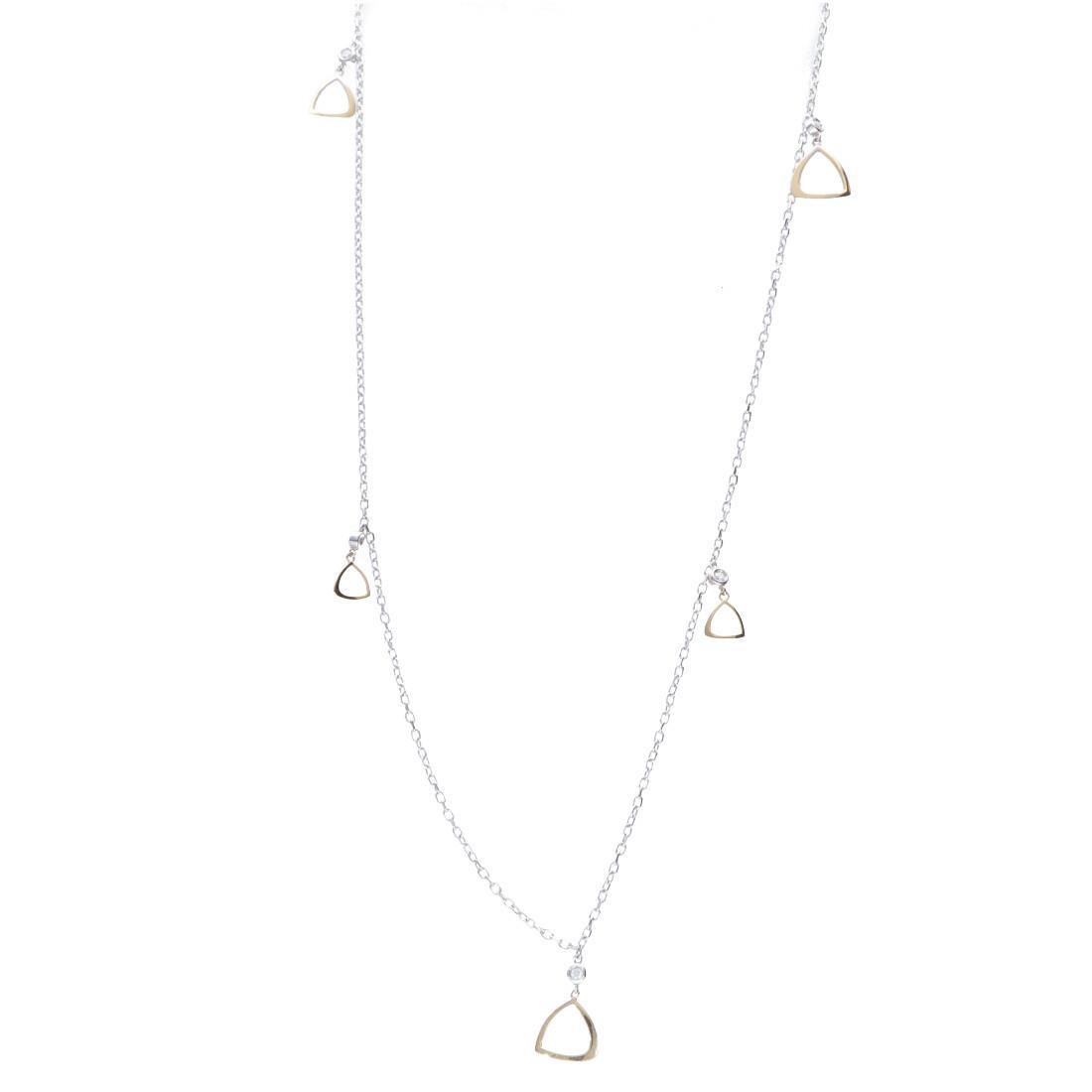 Collana lunga con diamanti - ALFIERI & ST. JOHN