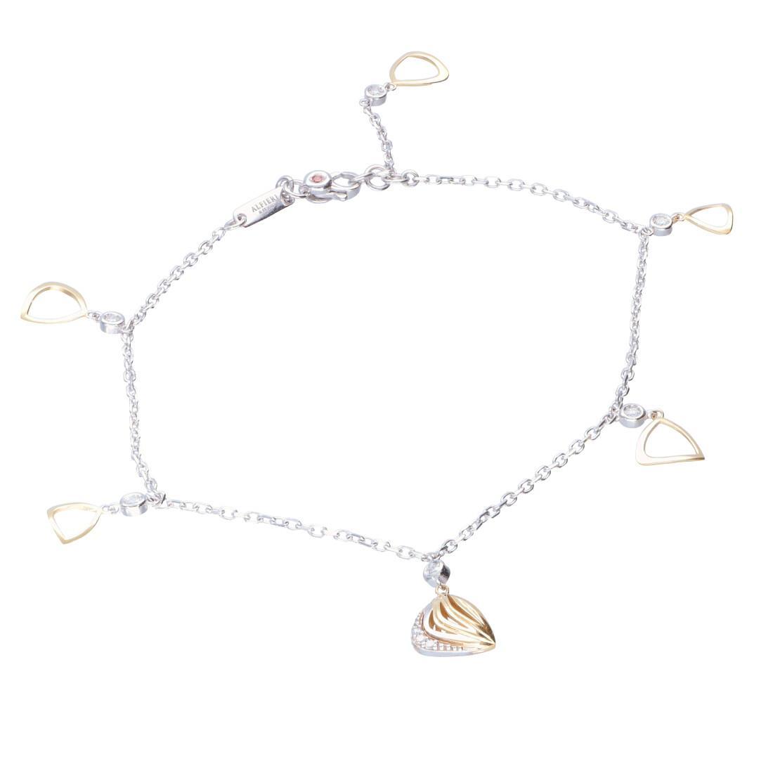 Bracelet with diamonds - ALFIERI & ST. JOHN