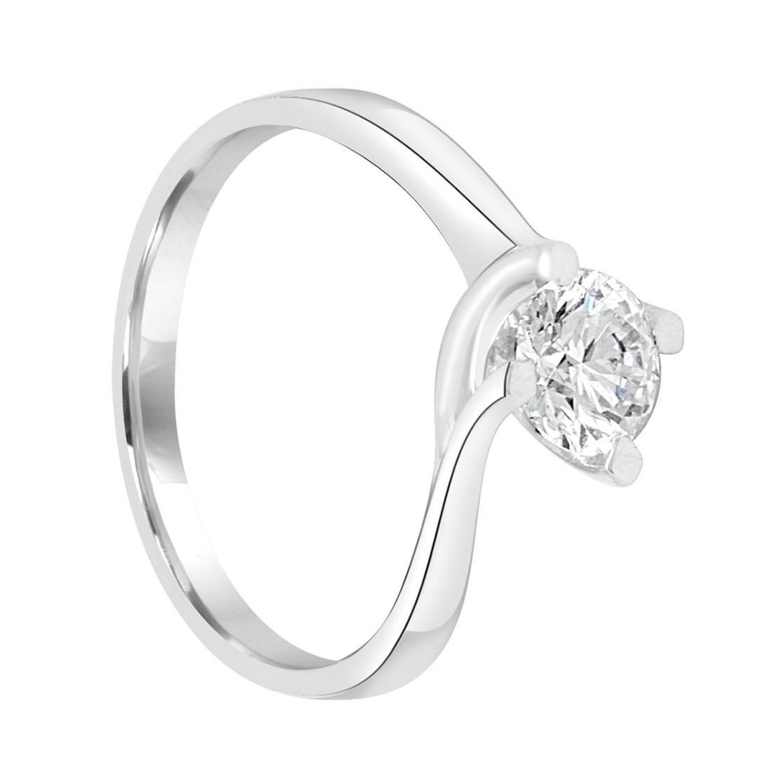 Anello solitario con diamante ct. 0,70 - ALFIERI & ST. JOHN